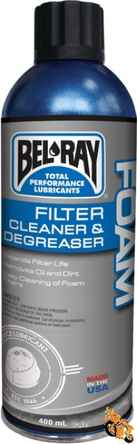 Foam Filter Cleaner & Degreaser
